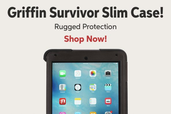 Griffin Survivor Slim Case! Rugged Protection Shop Now!