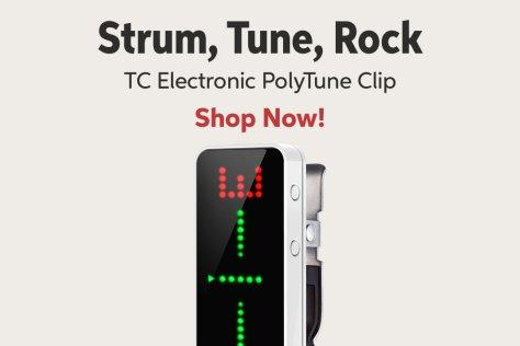 Strum Tuna Rock TC Electronic PolyTune Clip Shop Now!
