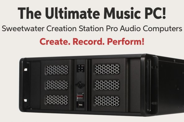 The Ultimate Music PC! Sweetwater Creation Station Pro Audio Computers Create. Record. Perform!