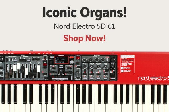 Iconic Organs! Nord Electro 5D 61 Shop Now!