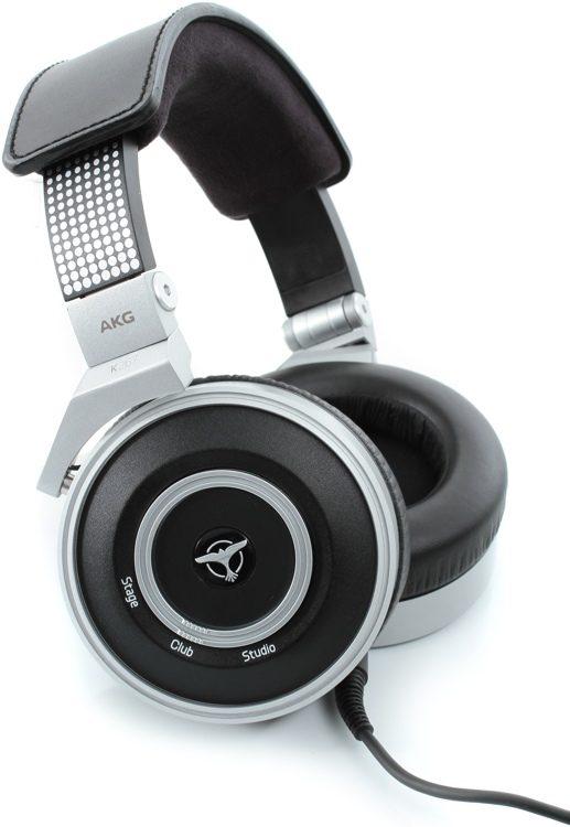 K267 Tiesto DJ Headphones w/ Adjustible Bass Boost - Closed