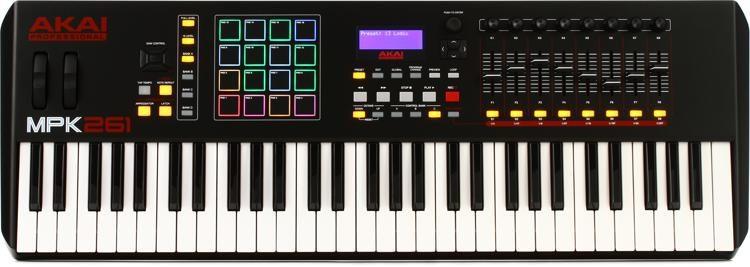 MPK261 Keyboard Controller
