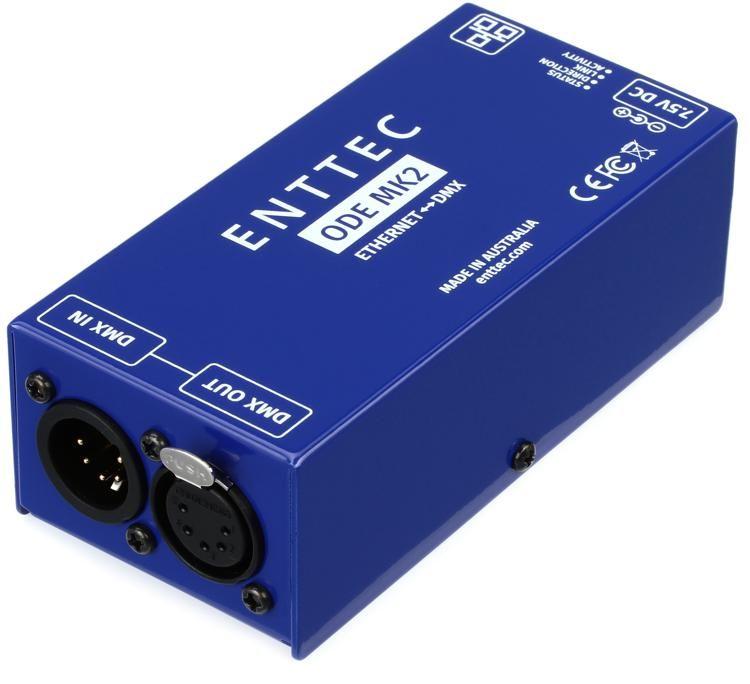 ODE Mk2 1-Port Open DMX Ethernet Gateway