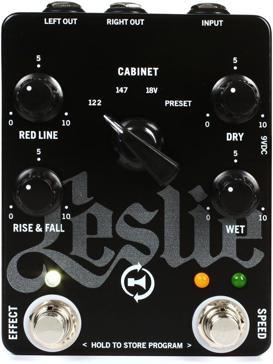 Leslie G Pedal Leslie Speaker Simulator For Guitar Sweetwater