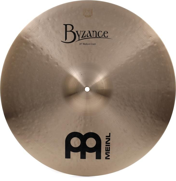 04a8f70c02da Meinl Cymbals Byzance Traditional Medium Crash Cymbal - 20