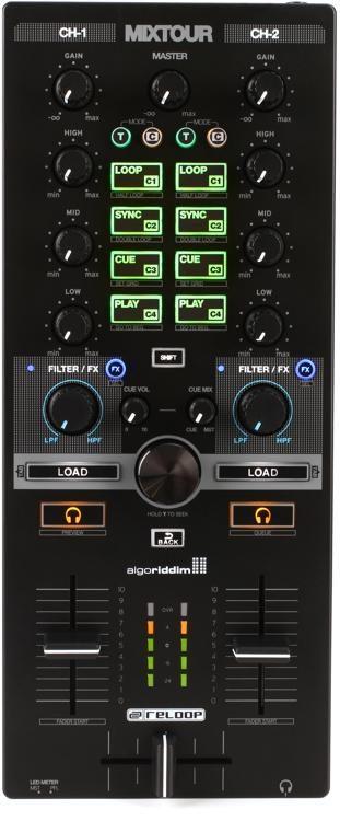 Mixtour 2-channel DJ Controller