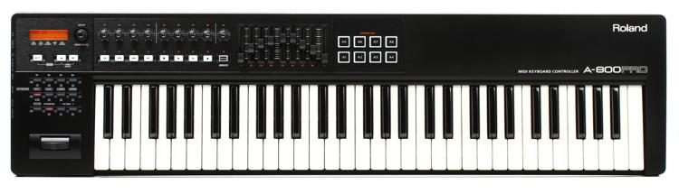 Roland A-800 PRO 61-key Keyboard Controller | Sweetwater