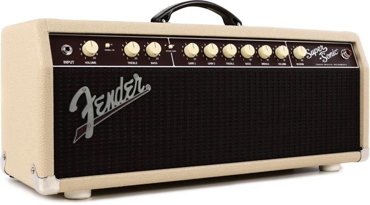 fender super sonic 22 22 watt tube head blonde sweetwater rh sweetwater com Fender Super Reverb Head Fender Super Reverb Head