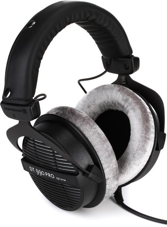 cb13cfe638f Beyerdynamic DT 990 Pro 250 ohm Open-back Studio Headphones | Sweetwater