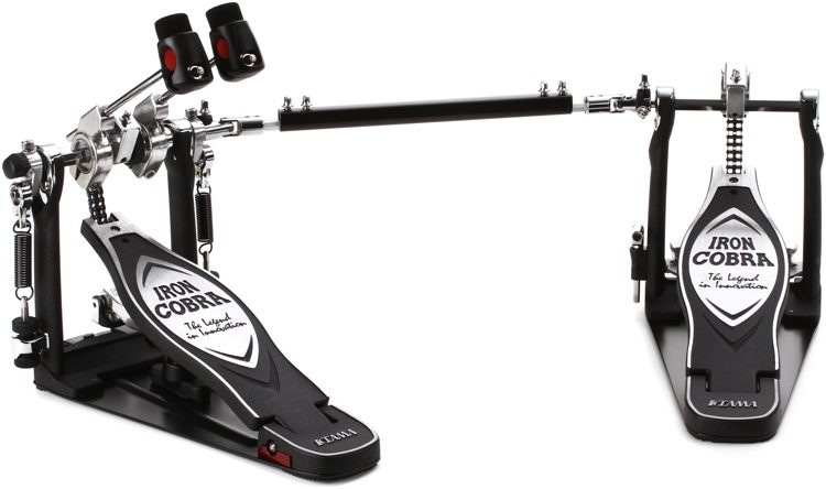 HP900PWLN Iron Cobra Power Glide - Dual Kick Drum Pedal, Left-footed