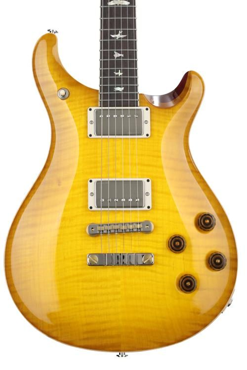 prs mccarty 594 figured top mccarty sunburst with pattern vintage