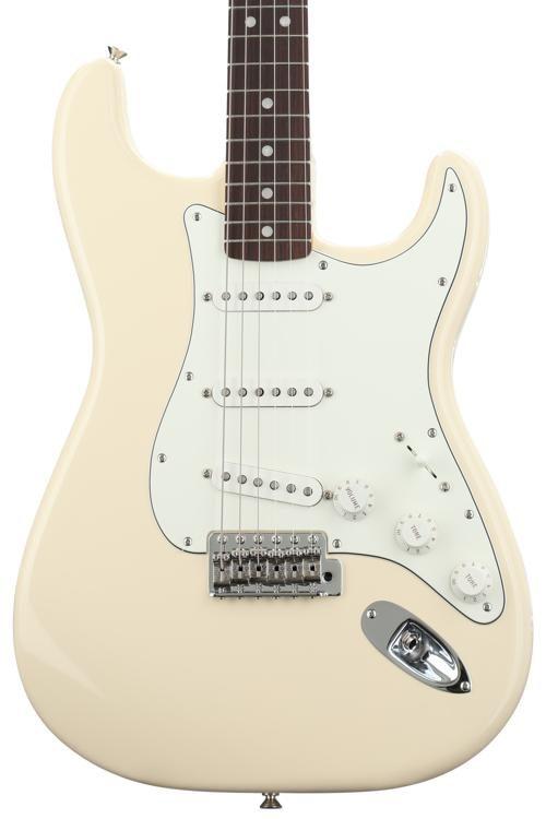 Fender Albert Hammond Jr Signature Stratocaster Olympic White