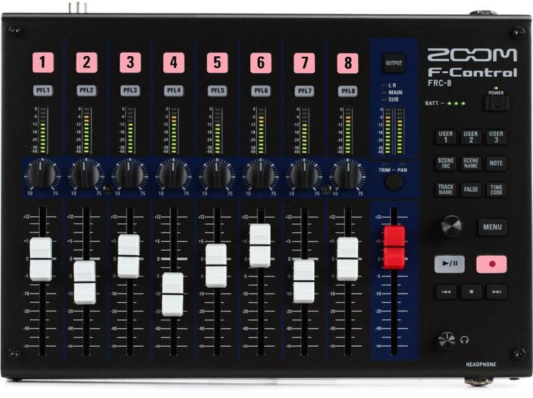 F-Control Mixing Control Surface for the Zoom F8 and F4