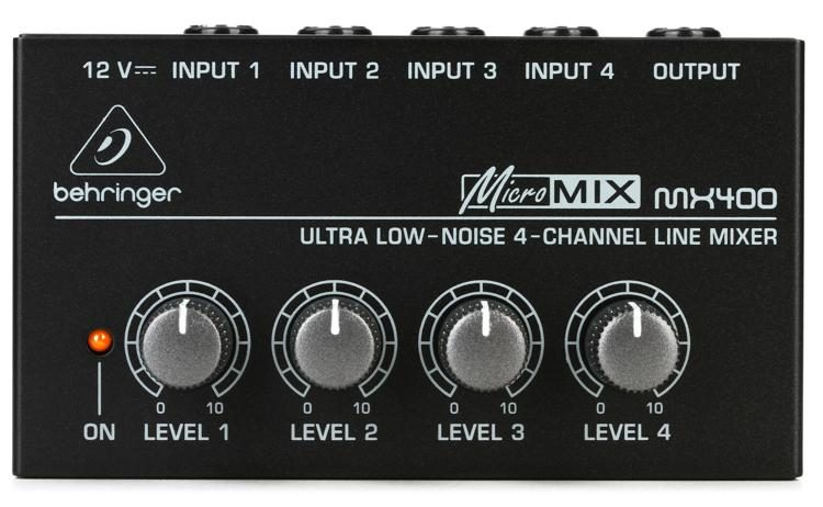 Behringer micromix mx400 reviews.