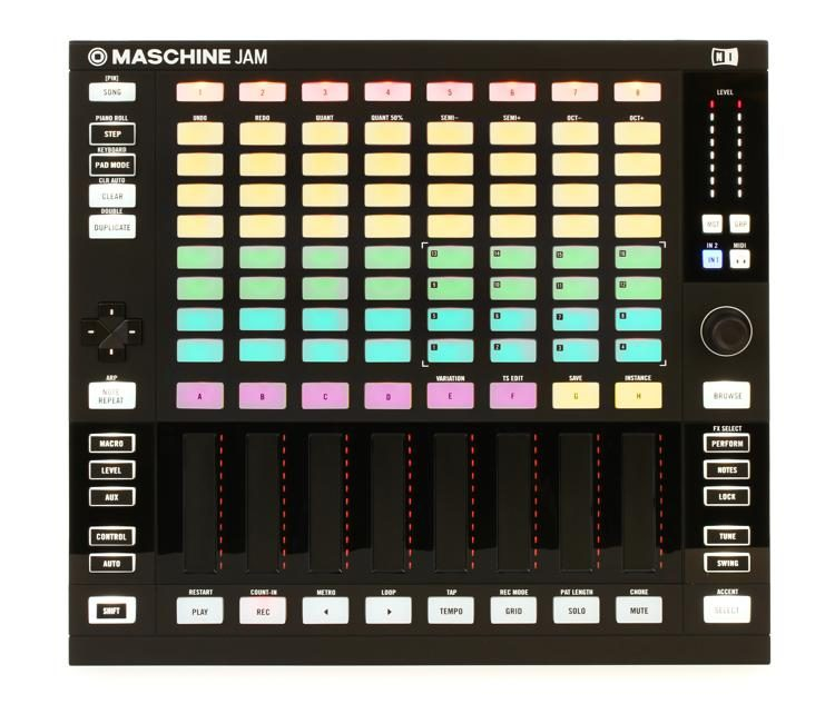 Maschine Jam Production and Performance System