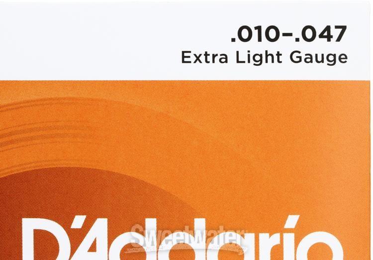D Addario Ej15 Phosphor Bronze Extra Light Acoustic Strings