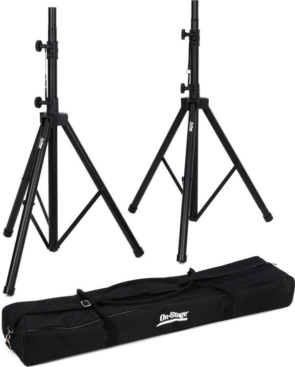 SSP9 All-Aluminum Speaker Stand Pack with Bag
