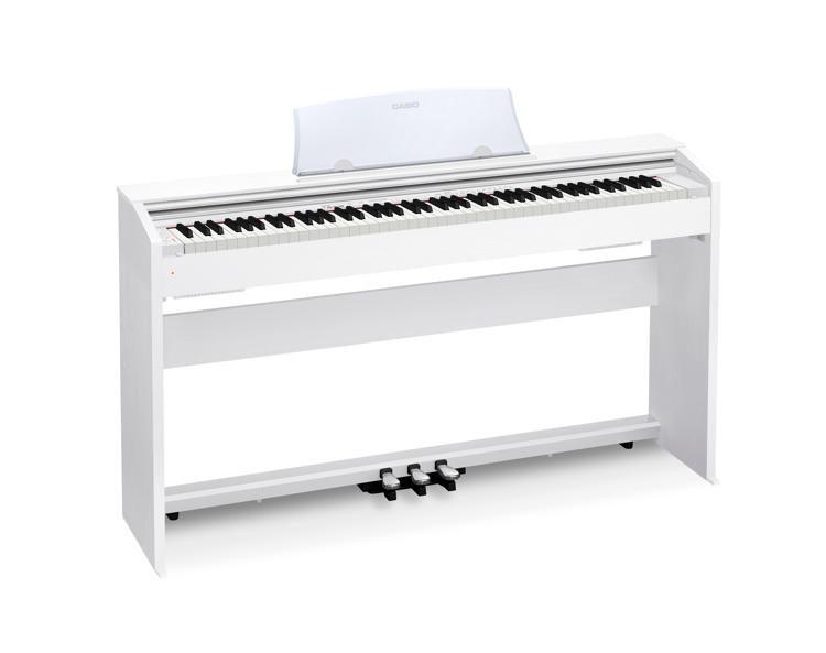 9f50f7516a4 Casio Privia PX-770 - White Finish. 88-key Digital Piano ...