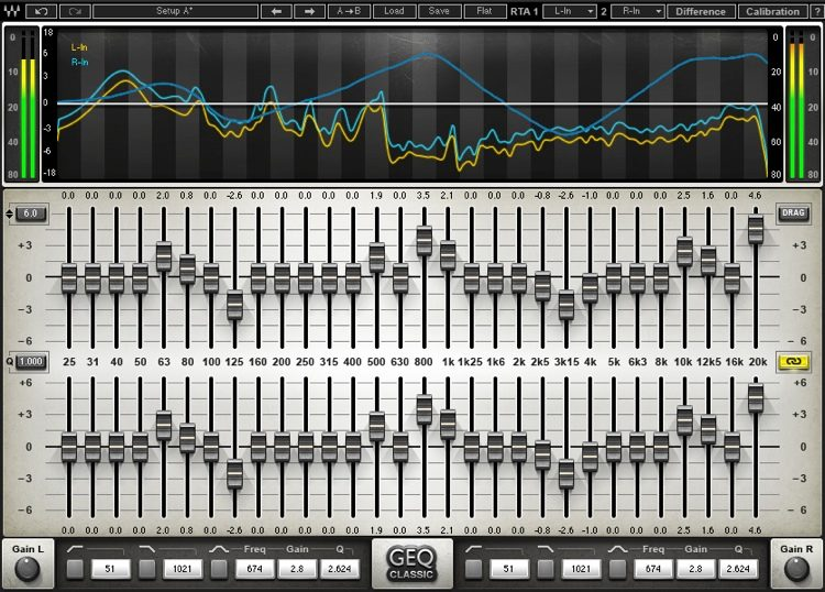 GEQ Graphic Equalizer Plug-in