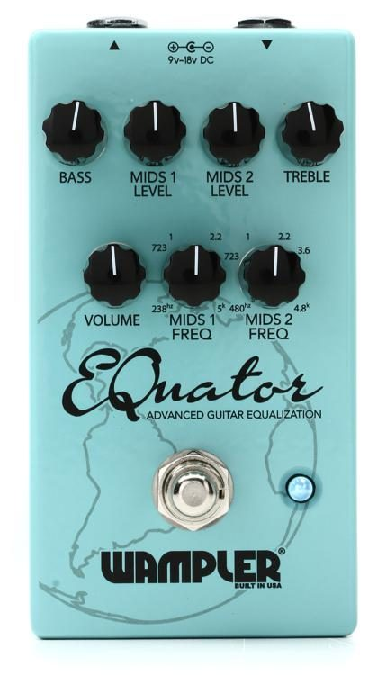 The Early Grades Are Key To Equalizing >> Wampler Equator Eq Pedal Sweetwater