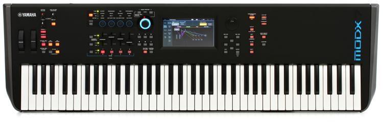 Yamaha 76 Key Synthesizer with Gator GTSA-KEY76 Case Includes Gator GTSA-KEY76 TSA ATA Keyboard Case with Wheels!