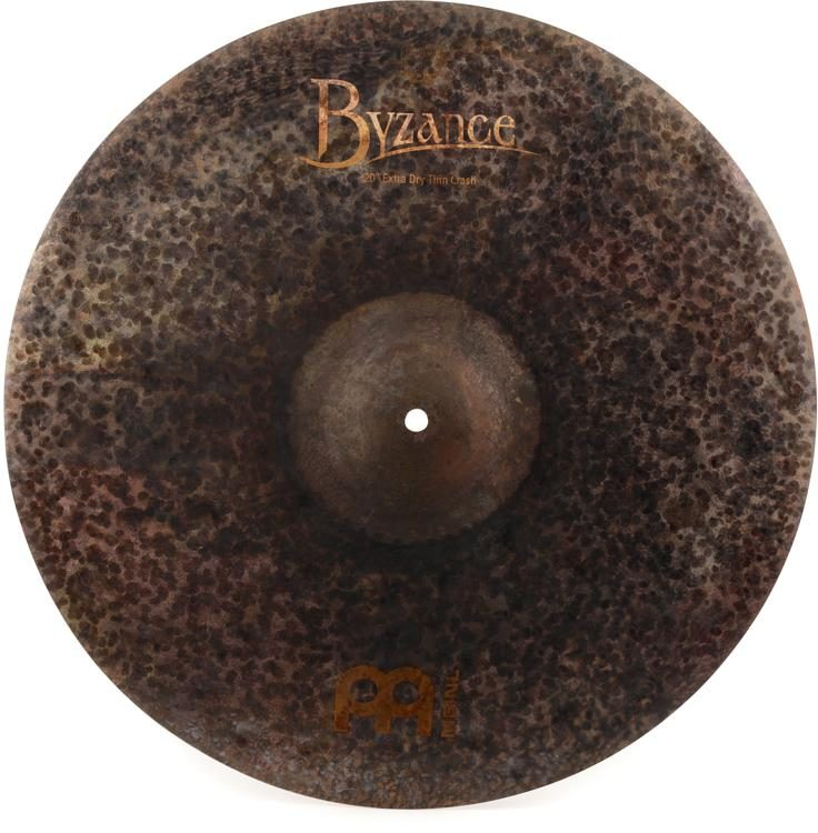 Meinl Cymbals Byzance Extra Dry Thin Crash Cymbal - 20