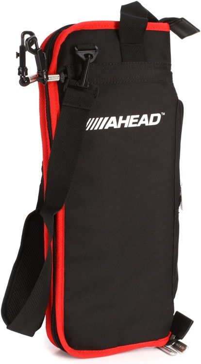 Ahead Deluxe Stick Bag Black Red Trim Image 1