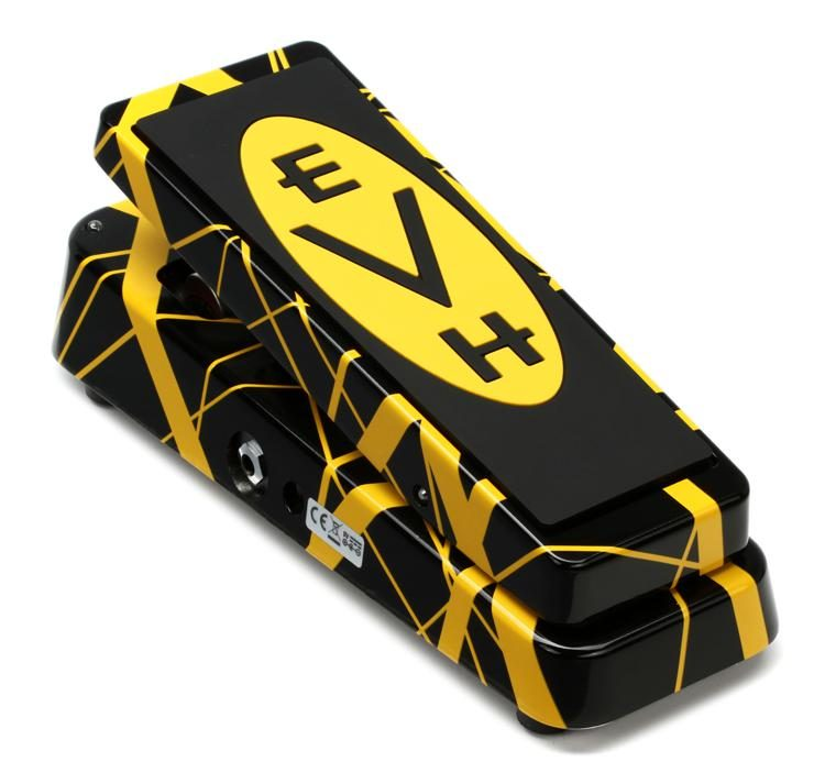 a2114fb886f Dunlop EVH95 Eddie Van Halen Signature Cry Baby Wah Pedal image 1