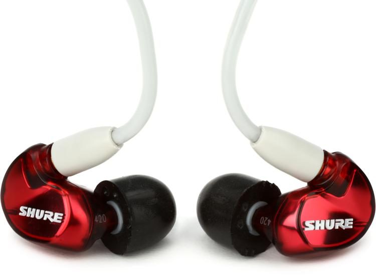 d187e10dd0f Shure SE535 Sound Isolating Earphones with 3.5mm Pro Cable - Special  Edition Red