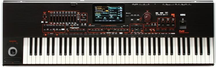 Pa4X-76 76-key Professional Arranger