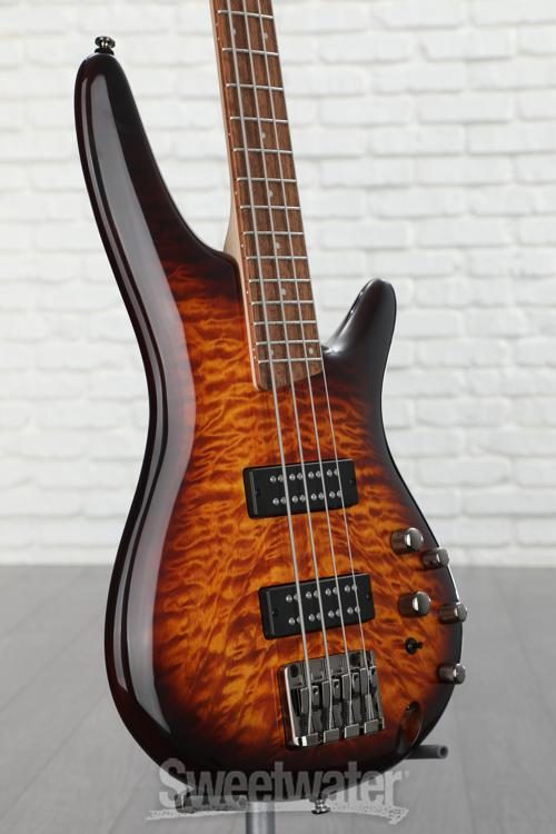 Ibanez SR400EQMDEB SR Standard Bass Guitar Dragon Eye Burst w//Hard Case and Gea