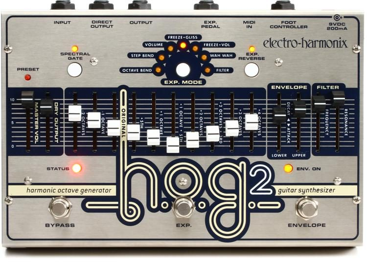 Electro-Harmonix HOG2 Guitar Octave Effect Pedal