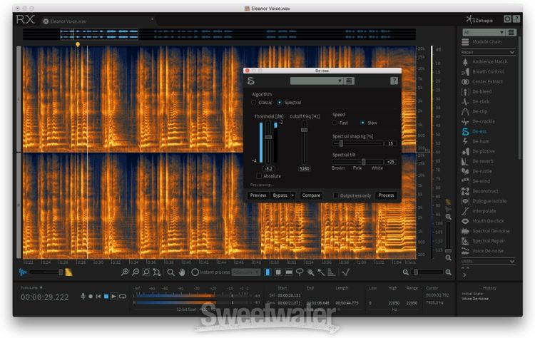 iZotope RX 6 Advanced Audio Editor - Academic Version | Sweetwater