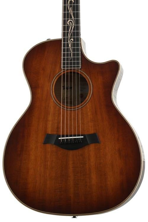 Taylor K24ce Shaded Edgeburst Sweetwater