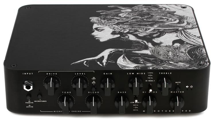 d5eaa4b0eb3 Darkglass Microtubes 900 Limited Edition Medusa - 900-watt Bass Head image 1