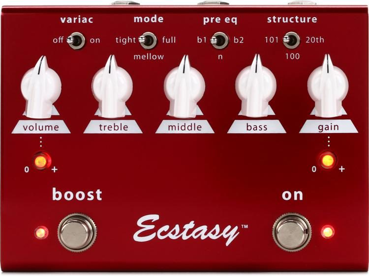 great deals 2017 release info on professional sale Ecstasy Red Overdrive Pedal