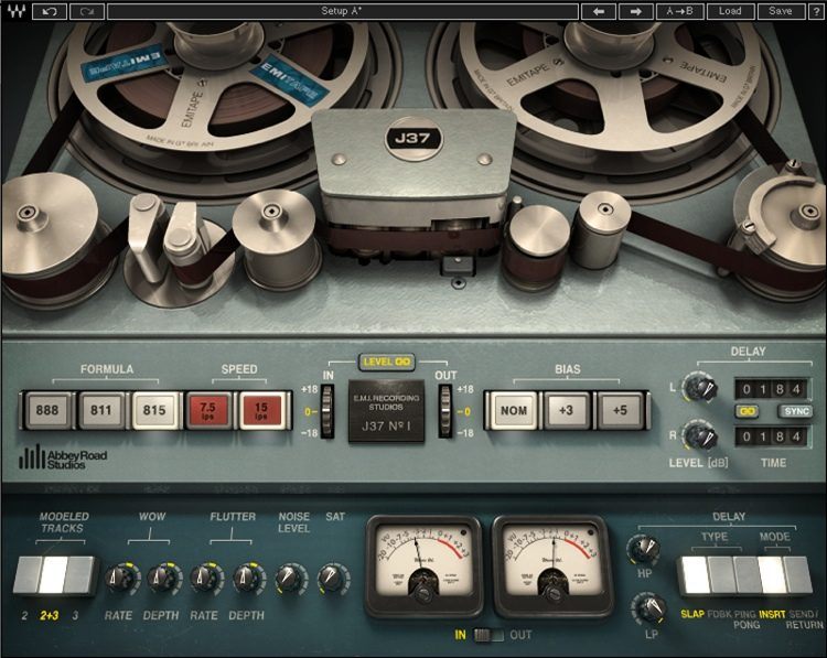 Abbey Road Studios J37 Tape Plug-in