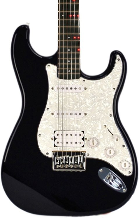 FG-621 Wireless Electric Guitar Learning System - Black
