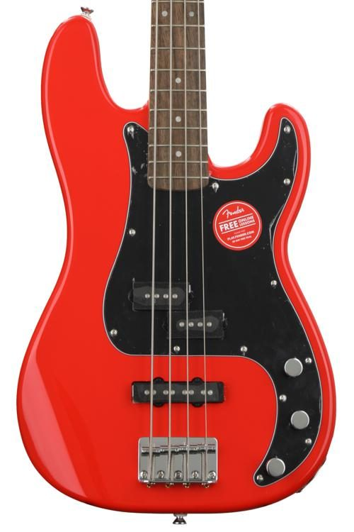 Affinity Series Precision Bass PJ - Race Red w/ Indian Laurel Fingerboard
