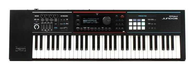 Roland Juno Ds61 61 Key Synthesizer Sweetwater
