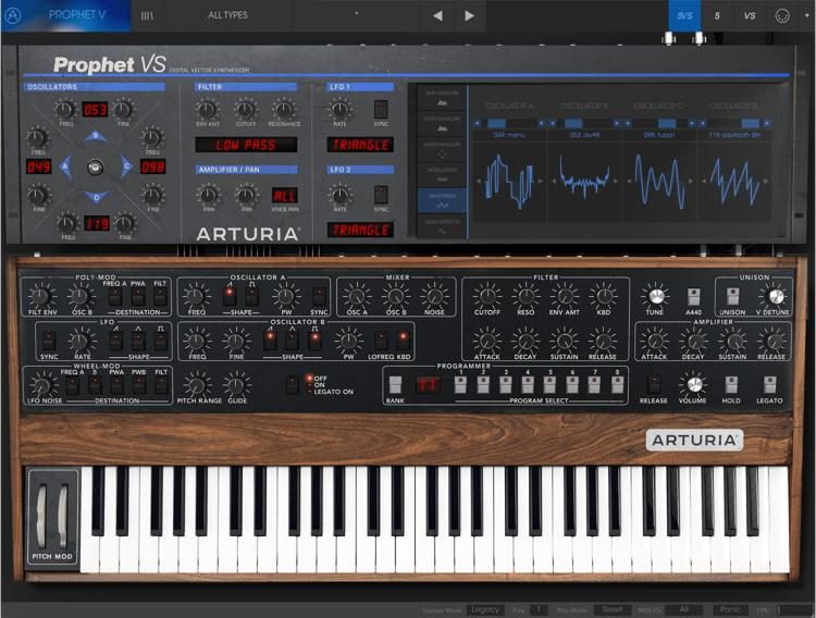 arturia prophet v mac download