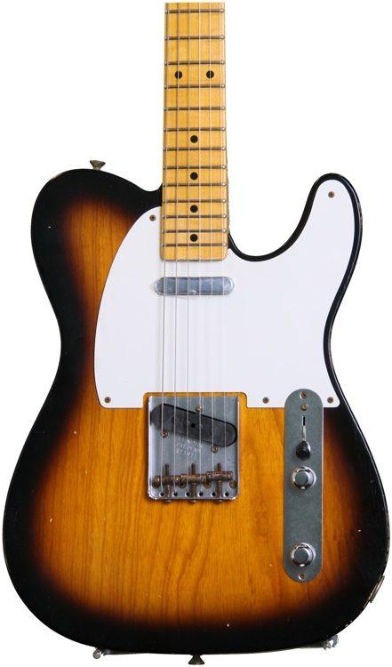 50\u0027s relic telecaster w 1 piece lw ash body, 2 tone sunburstWay Switch And Twisted Tele Neck P Up Page 2 Telecaster Guitar #9