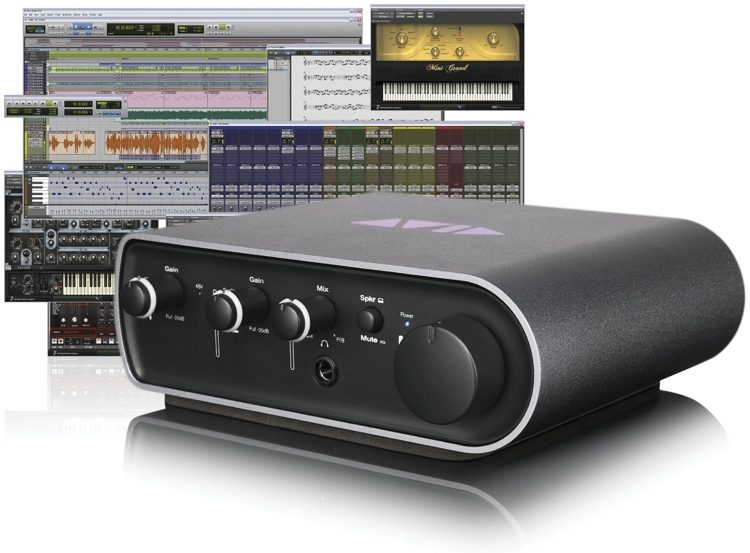Avid Mbox 3 Mini With Pro Tools Express Sweetwater