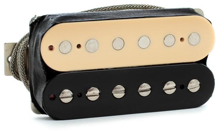 gibson accessories 57 classic plus pickup zebra bridge 2 conductor image
