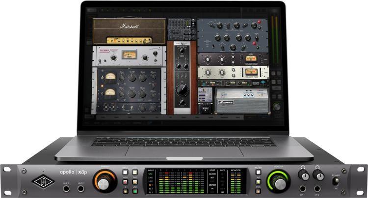 Apollo x8p 16x22 Thunderbolt 3 Audio Interface with UAD DSP