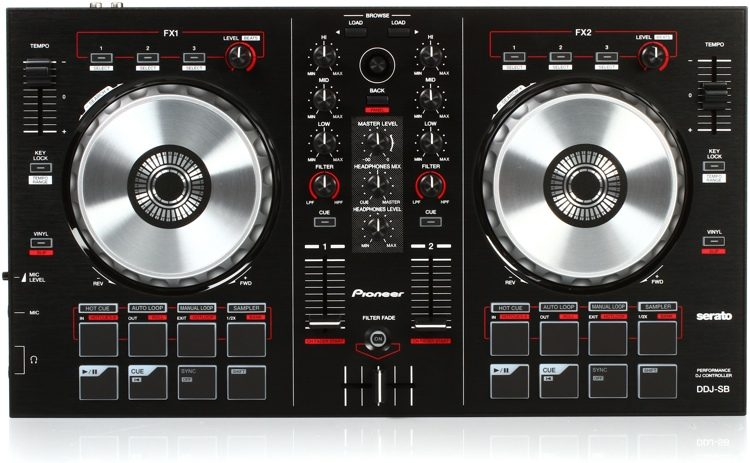 DDJ-SB Performance DJ Controller