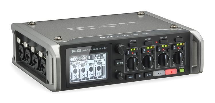 F4 Multitrack Field Recorder
