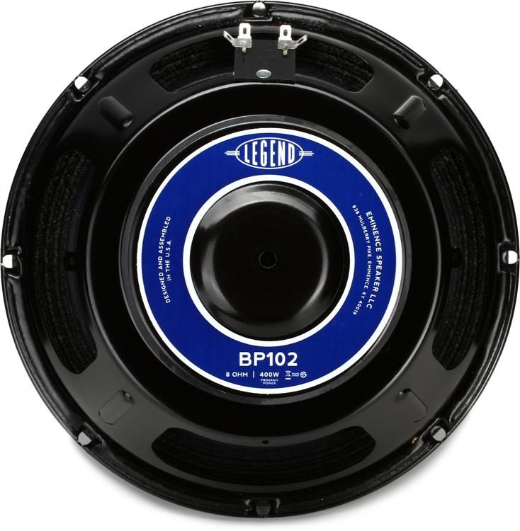 Eminence Legend BP102 Legend Series 10 200Watt Replacement Bass Speaker 8 Ohm image