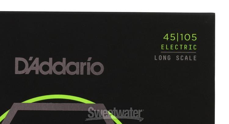 D/'Addario 4er Bass NYXL 45-105 45-65-85-105 NYXL45105