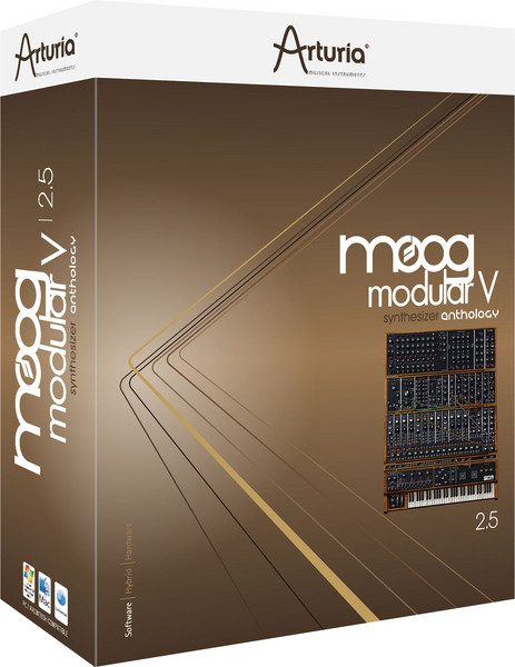 arturia moog modular v plugin